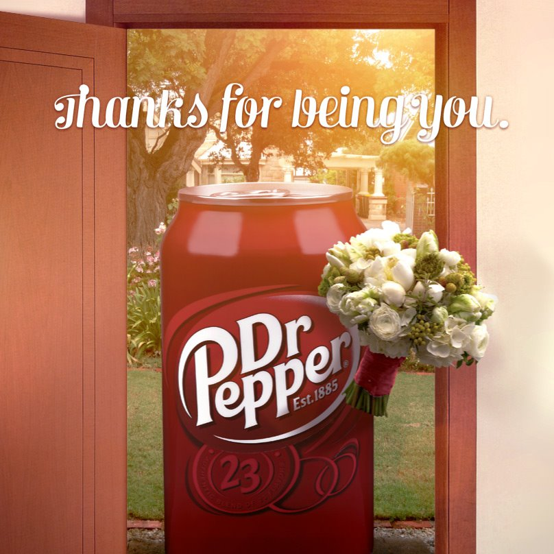 Dr. Pepper's Mothers Day post
